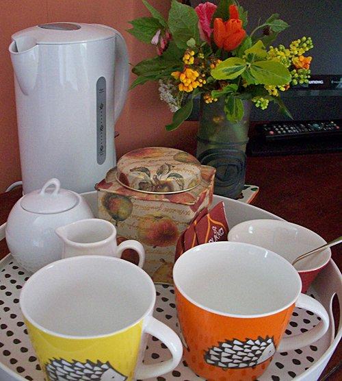 Tea facilities for Brunslow bedroom