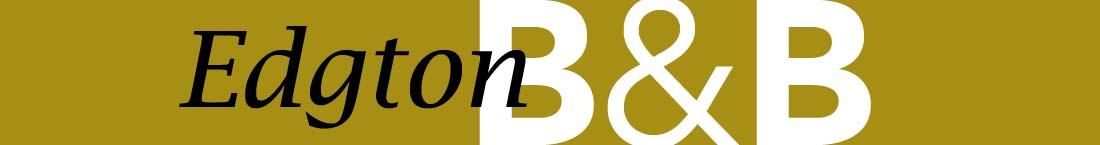 Home page header image, Edgton b&b